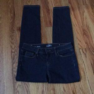 New Ann Taylor loft 4P modern skinny jeans